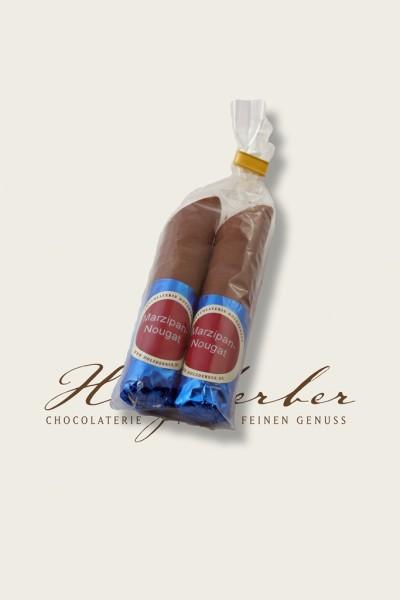 2er Maripan Nougat Stangen Edelvollmilch Schokolade