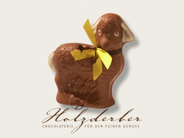Oster- Lamm handbemalt Edelvollmilchschokolade