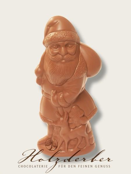 Weihnachtsmann Edelvollmilch Schokolade 25 cm
