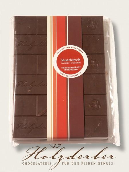 Sauerkirschen in Zartbitter Schokolade